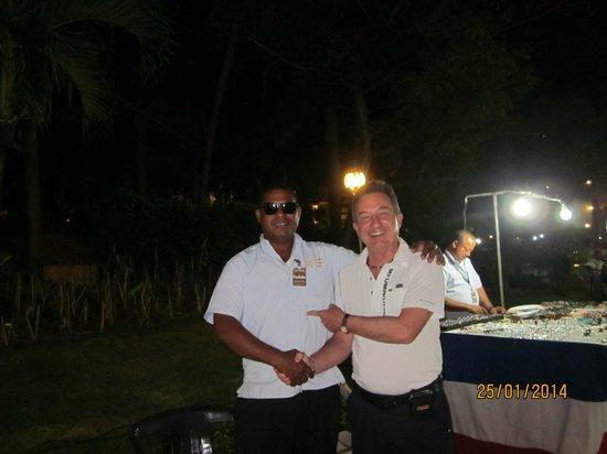 Barcelo Punta Cana: Vendeur sur le site