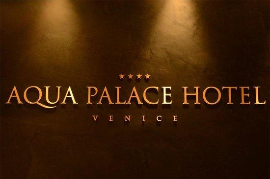 Aqua Palace Hotel: Detalle de la entrada