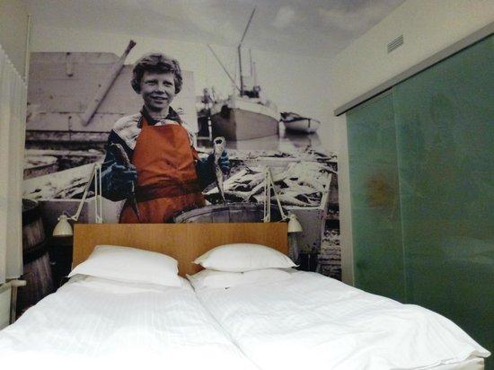 Icelandair Hotel Reykjavik Marina: Blick ins Zimmer