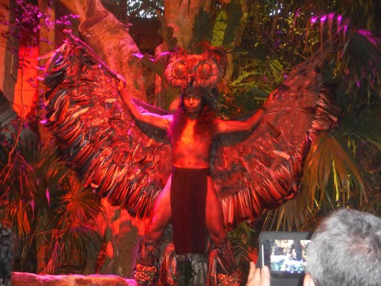 Xcaret Eco Theme Park: Xcaret Warrior