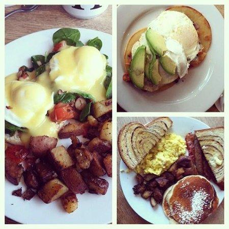 Big Bean Cafe: Our brunch