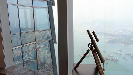 The Ritz-Carlton, Hong Kong : View from Club Lounge