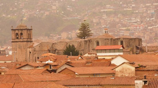 Tierra Viva Cusco Plaza : View from the Suite at 5th floor