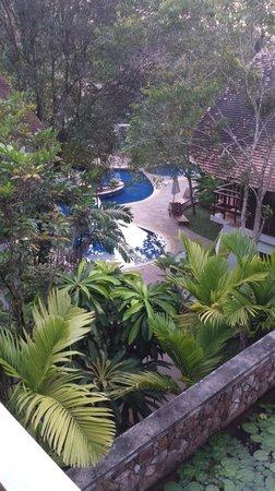 The Tubkaak Krabi Boutique Resort : Vue depuis la réception