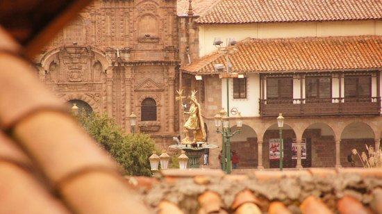 Tierra Viva Cusco Plaza: View from the Suite at 5th floor