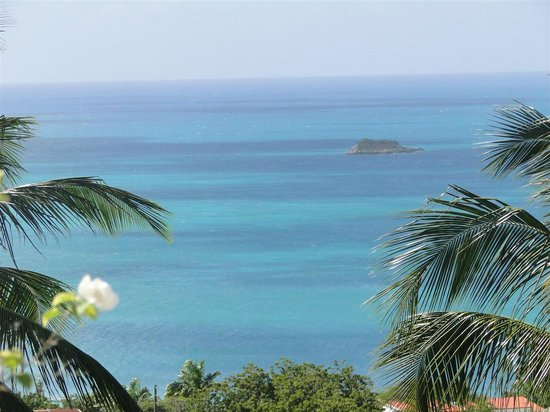 Trade Winds Hotel: Zoomed in view from Room 28