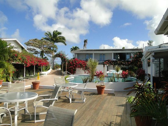 Trade Winds Hotel : Pool and patio