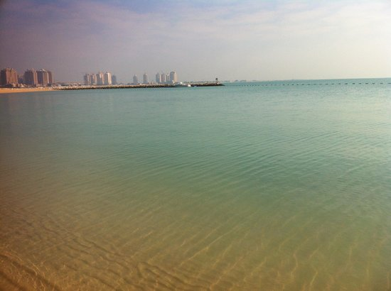 InterContinental Doha: Beach front property view