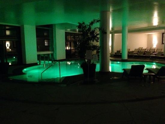 Lefay Resort & Spa Lago di Garda : la spa di sera