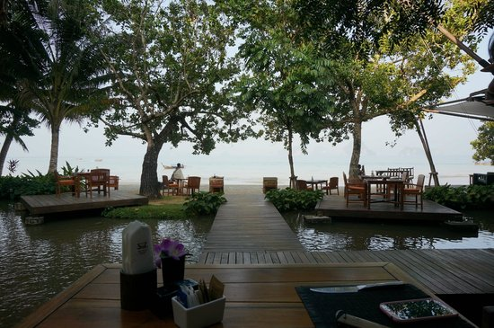 The Tubkaak Krabi Boutique Resort : Le matin au petit déjeuner