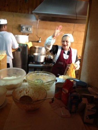 Trattoria Der Pallaro : the lady of the house
