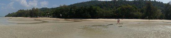 The Tubkaak Krabi Boutique Resort : L'hôtel vue de la mer