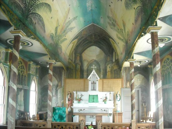 The Painted Church: The alter