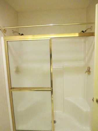 Country Inn & Suites by Radisson, Schaumburg, IL : Huge shower