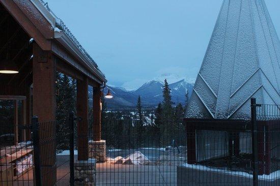 Hidden Ridge Resort: la vue du spa