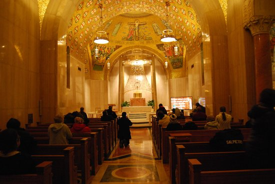 Basilica of the National Shrine of the Immaculate Conception : One of the many side chapels