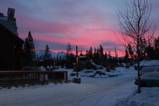 Hidden Ridge Resort: la matin 7h45