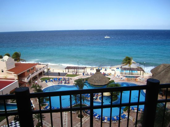El Cozumeleno Beach Resort: View from Room on 6th Floor