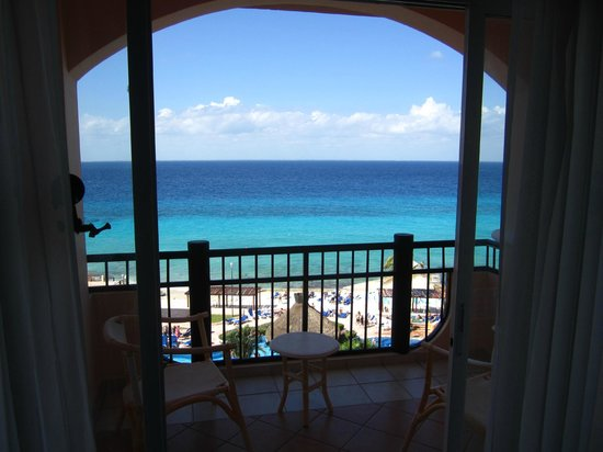 El Cozumeleno Beach Resort: view from room - incredible on a sunny day!