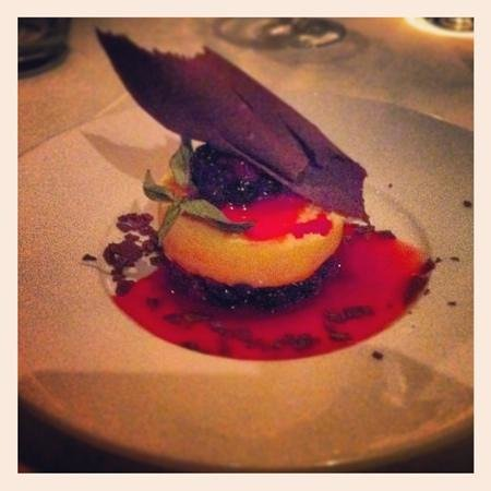 Bella Italia Ristorante: postre de frutos rojos