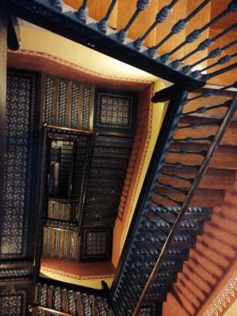 Catalonia Portal de l'Angel: The hotel stairs- don't worry there are lifts!