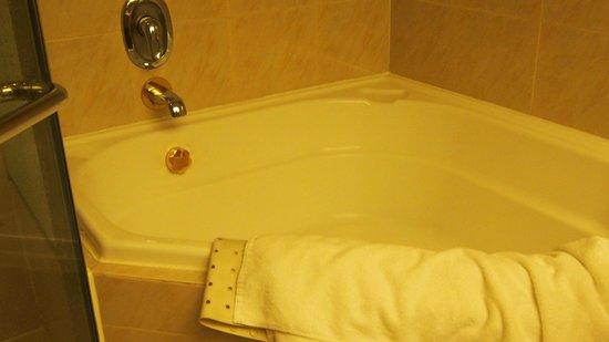 Regal Hongkong Hotel: A large bathtub