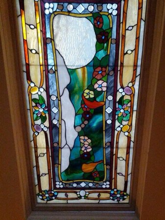 La Farge Perry House : John LaFarge stained glass.