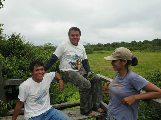 Amazonia Expeditions' Tahuayo Lodge: The wonderful guides at Tahuayo Lodge