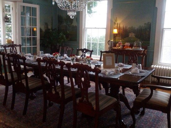 La Farge Perry House: Main Dining Room
