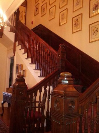 La Farge Perry House: Main Stair