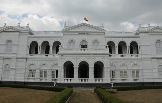Colombo National Museum: Building Front