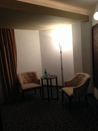 Hotel Ambiance: Living room
