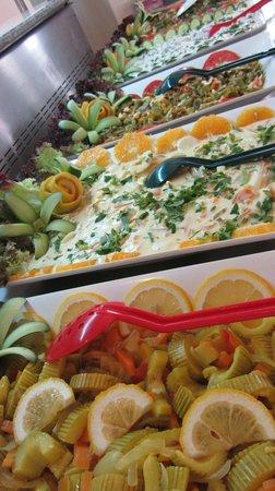 Club Paradiso Resort: Food selection