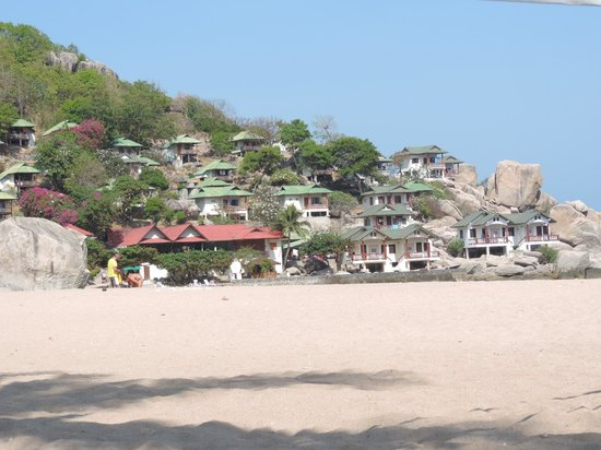 Ao Tanot Bay: vista del villaggio