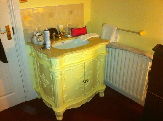 Creston Villa Guest House: gawjess sink
