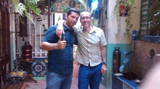Casa 1932: My partner Darren and Xavi