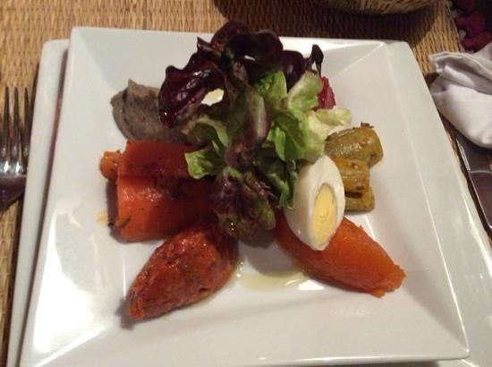 Le Comptoir du Pacha: Salades marocaines