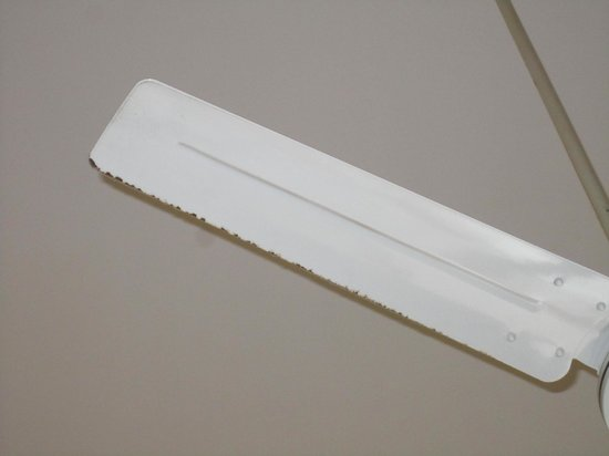 Sunrise Condos of Tamarindo : Dirty ceiling fan blade