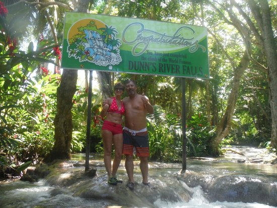 Dunn's River Falls and Park: We completed the journey...awesome1