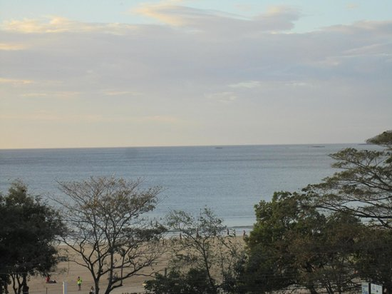 Sunrise Condos of Tamarindo : Zoomed view of the ocean