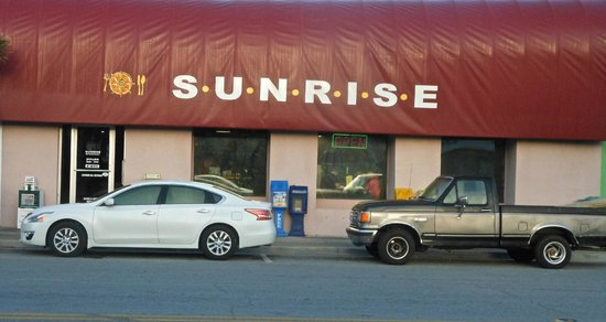 Sunrise Restaurant: This is what it really looks like