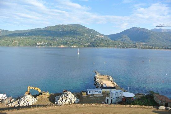 Hotel Neptune : vue sur le golfe de Valinco