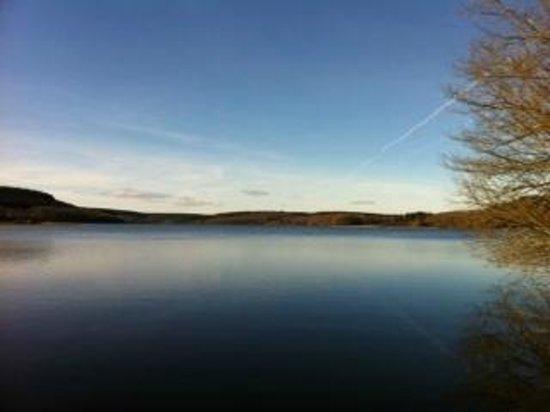 La Jarnoise : Lac de Saint Agnan en hiver