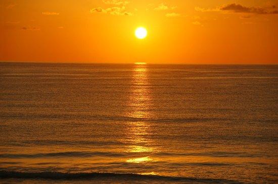 The Royal Sands: amanecer desde el balcón