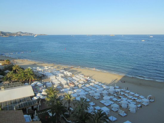 Ushuaia Ibiza Beach Hotel : View from the room