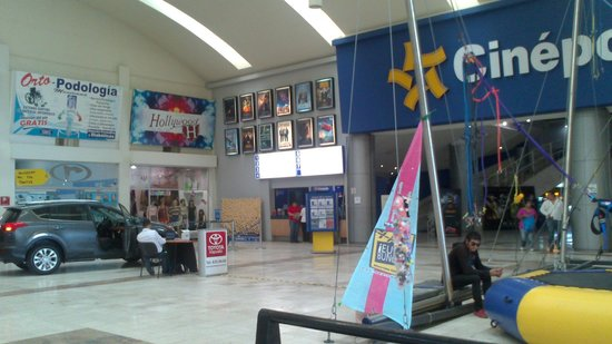 Holiday Inn Salamanca: Los cines