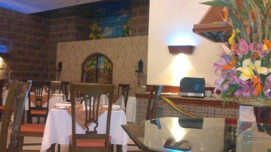 Holiday Inn Salamanca: El restaurant del hotel