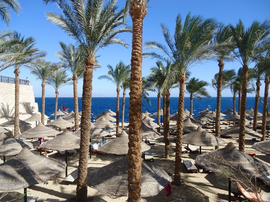 The Grand Hotel Sharm El Sheikh: Beach