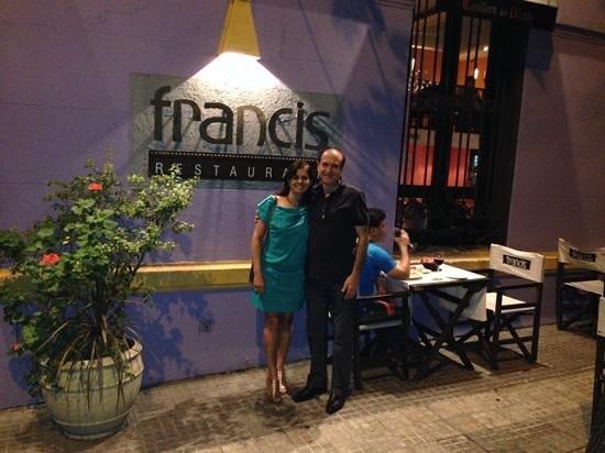 Francis Restaurant: Jantar no Francis