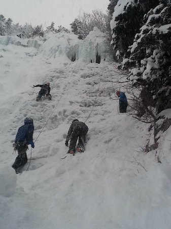Wild Alpine - Day Tours: Five Finger Ice Climb Portage, AK
